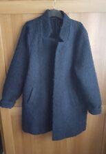 womens size 14 new blue winter woolen coat jacket