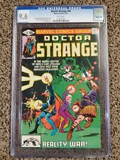 Doctor Strange #46 CGC 9.6 NM+ White pages Frank Miller cover