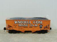 MTH 20-97200 2-Bay Waddell Coal Fish Belly Hopper Car