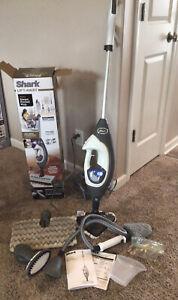 Shark Lift-Away Pro Steam Pocket Mop W/Above Floor Cleaning + Garment Steamer