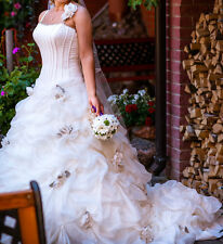 Ian Stuart ''Palmarosa'' Wedding Dress size 6-8.  Cost over £3000 new