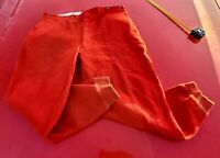 Vintage 1940's Woolrich Men's Red Wool Pants Hunting Made In USA Size 36x29