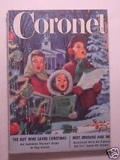 CORONET December 1951 SID CAESAR IMOGENE COCA Your Show of CHRISTMAS RUTH SAWYER
