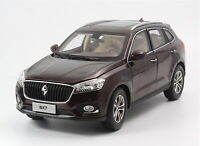 1/18 Scale BORGWARD BX7 SUV Brown Diecast Car Model Toy Collection