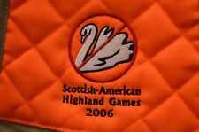 """Scottish-American Highland Games 2006"" Zipped Shooting/Hunting Vest Extra Large"