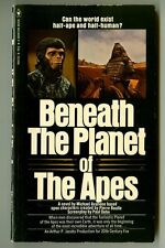 BENEATH The PLANET of The APES by Michael Avallone! Vintage 1970s Bantam PB!