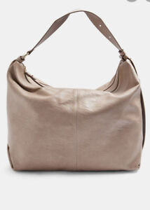 TOPSHOP Beige Slouchy PU Hobo Bag new WITH TAGS