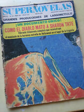 Sharon Tate Murder Very Rare Photonovel Magazine 1970
