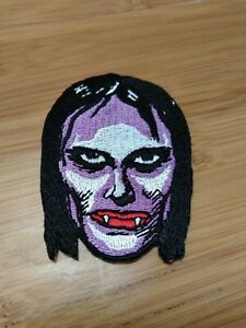 """Topstone Vampire Girl 3"""" Iron-on Embroidered Patch"""