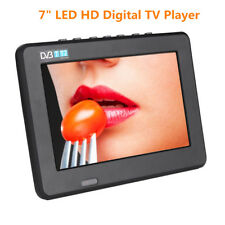 "Mini Portable 7"" Led Dvb-T/T2 Digital Analog Tv Player 1080P Support Av/Usb/Tf"