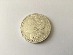 Pièce Monnaie USA 1 Dollar Argent Morgan Aigle 1886