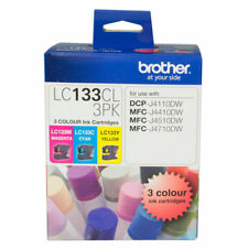 Brother LC133CL Magenta/Cyan/Yellow Ink Cartridge - 3 Pack