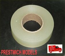 RADIO BOX HATCH TAPE WATERPROOF 25metres x 24mm wide CLEAR rc boat brushless gas