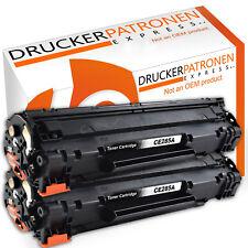 2 Toner für HP LaserJet Pro CE285A 85A P1100 P1102W M1136MFP Pro 1102W MF3010
