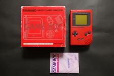 GAME BOY RED LImited Nintendo Very Good.Condition JAPAN