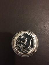 2018 1 oz Landmarks of Britain Trafalgar Square Silver Coin in Coin Capsule