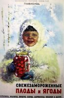 Lot 5 pcs Postcards Soviet Advertising Reprint vintage Postcard Lot Collection