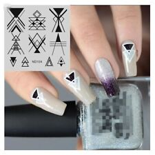 Nail Art Stamping Plate Image Decoration Tribe Geometric Aztec Dots (ND104)