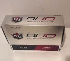 Wilson Staff W/S DUO 1 Dozen Golf Balls New In Box Rare Model