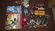 Transformers Kre-O Lot of 8 Loose Building Toy Action Figures Hasbro