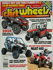 Dirt Wheels 2016 Can-Am Kawasaki Drag Quad Shootout Sept 2015 FREE SHIPPING JB