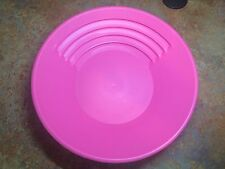 """Official Pan Of The GPAA Gold Prospectors The Gold Catcher 14"""" Pink Gold Pan"""