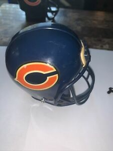 Chicago Bears Collectible Die cast  MINI HELMET Coin Bank Complete With Key