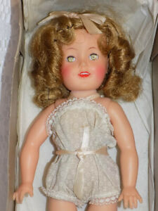 "Vintage 12"" Tall Ideal Shirley Temple Doll NMIB Rare Chemise All Original"