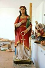 "+ Hand Carved Wood Statue of St. Philomena, 50"" ht. (other sizes available) +"