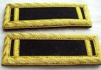 Civil War reenactors ShoulderBoards 1ST LT - Staff