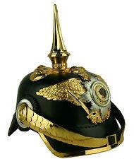 Piccone cappa guardia Reggimento di Prussia Impero shako CASCO reenactment SCA l167