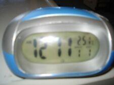 Digital Talking Alarm Clock, Light, Month, Date Temp. F/C Shell, Table