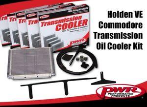 PWR Trans Oil Cooler kit HOLDEN VE V6/V8 '06-Aug'11 280x255x19mm 3/8barb PWO7267