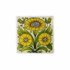 Yellow Daisy - Teapot Stand