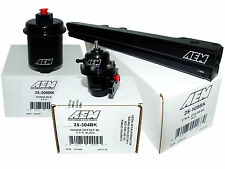 AEM High Volume Fuel Rail + Adj Pressure Regulator + Filter Honda D16Y8