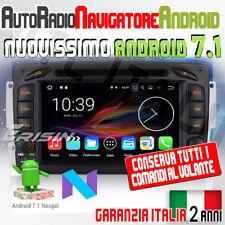 AUTORADIO ANDROID 7.1 Mercedes Classe C W203 S203 2000-2005 C180 C200 C220 C2...