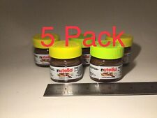 Nutella Hazelnut Spread with Cocoa Mini Jar 1 oz. (5 Pack) Best By 11/12/2021