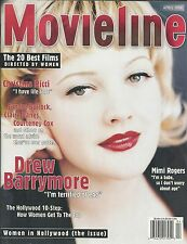 Movieline Magazine Drew Barrymore Mimi Rogers Women In Hollywood Issue 1998