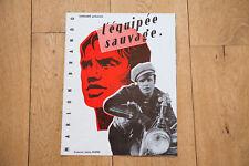 SYNOPSIS CINÉMA : L'ÉQUIPÉE SAUVAGE - THE WILD ONE - MARLON BRANDO - BENEDEK