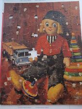 Vintage Large Childrens Jigsaw Puzzle Bernbach Art Dutch Doll Classic Toys