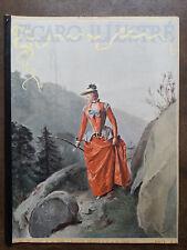 """LE FIGARO ILLUSTRE 1891  N 17  """" DANS LA LA MONTAGNE """", par GUSTAVE JACQUET"""