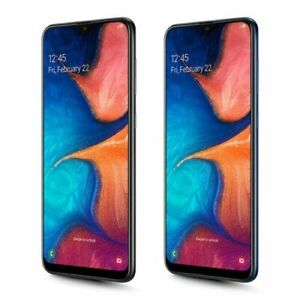 """Samsung Galaxy A20 A205 Dual Sim 32GB 3GB RAM 6.4"""" 13MP Android Phone By FedEx"""