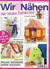 DIANA NÄHEN D 2579 WIR NÄHEN für KLEINE ENTDECKER - 34 Süsse Modelle f Babys & K