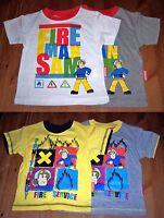 Feuerwehrmann Sam Jungen T-Shirt Gr. 86/92 - 110/116