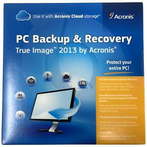 Acronis True Image 2013 PC Backup & Recovery