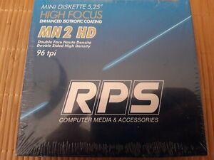 "RPS Mini Disquette 5.25"" MN 2HD Double Face Haute Densité 96tpi"