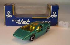Norev Mini Jet Maserati Boomerang grünmetallic Länge 7cm OVP #097