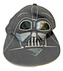 Star Wars Baseball Cap Darth Vader Black Cotton Snapback Hat Adjustable Youth