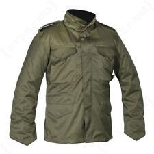 Abrigos y chaquetas de hombre parka de poliéster de color principal verde