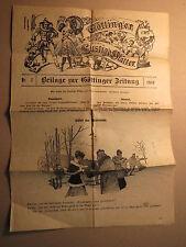 Göttingen - Beilage zur Göttinger Zeitung - Lustige Blätter - Nr. 7 / 1916